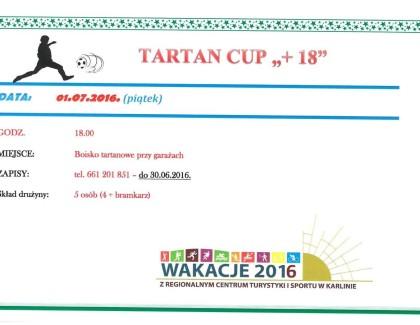 """TARTAN CUP """"+18"""" w Karlinie – czyli wakacje 2016"""