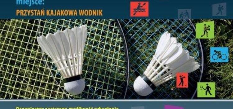Turniej badmintona dla dzieci i młodzieży