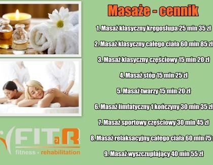 Zapraszamy na masaże :)