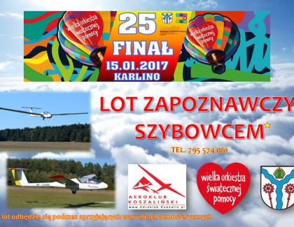 W najbliższą niedzielę 25. Finał WOŚP w Karlinie – liczymy na Was !