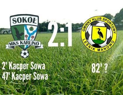 Zdobywamy pierwsze 3 pkt w 4 lidze!!!