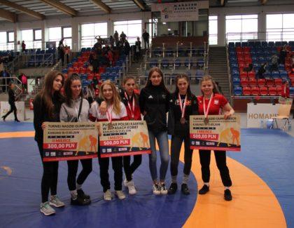 Turniej Nadziei Olimpijskich Krajów Wyszehradzkich Juniorek w Zapasach Kobiet Oraz Puchar Polski Kadetek.