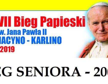 XXVII Bieg Papieski – BIEG SENIORA