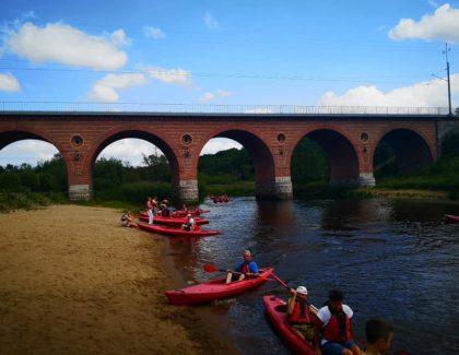 Polsko – niemiecki spływ kajakowy rzeką Radew szlakiem im. Kardynała Karola Wojtyło